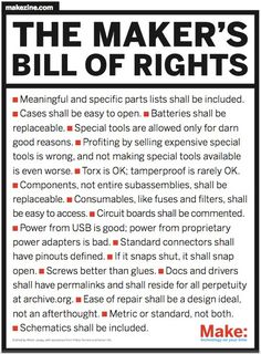 The Makers Bill of Rights (PDF)