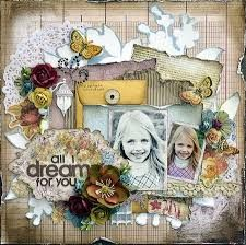 shabby chic layout tutorial - Google-søk