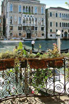 Vistas del Gran Canal, Venecia Italia.
