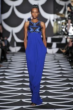 Look #33 Bohemian Wrapsody Fall 2014 #NYFW http://on.dvf.com/PINFALL2014