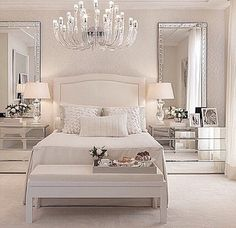 Beautiful glam bedroom