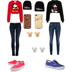 Mickey Mouse Besties outfits