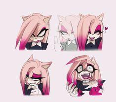 digital sketches by EinnhardeR on DeviantArt Sonic The Hedgehog, Shadow The Hedgehog, Shadow And Amy, Sonic And Shadow, Sonic Fan Art, Sonic Fan Characters, Anime Characters, Sonic Y Amy, Sonic Franchise