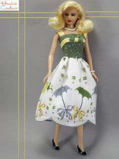 Six new items for one price:  Hankie Couture blonde doll, OOAK Hankie Couture…