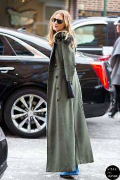 because that cape is completely brilliant. #OliviaPalermo in NYC.