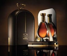 """L'OR de Jean Martell new gift box """"The Dome by Eric Gizard"""", reflecting the ultimate luxurious image of this Ultra Prestige cognac by the House of Martell."""