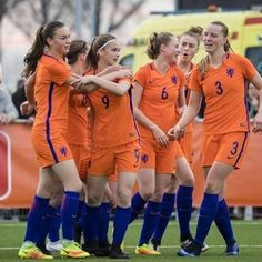 Norway no match for the Netherlands #FansnStars