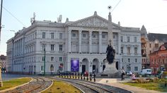 Theater building in Arad Romania, Theater, Louvre, Building, Places, Travel, Teatro, Voyage, Buildings