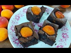 Sárgabarackos brownie - Az én alapszakácskönyvem - YouTube Sushi, Ethnic Recipes, Youtube, Food, Essen, Meals, Youtubers, Yemek, Youtube Movies