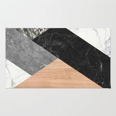 Marble and Wood Abstract Rug by calacatta Hallway Carpet Runners, Cheap Carpet Runners, Carpet Stairs, Hall Carpet, Best Carpet, Diy Carpet, Plastic Carpet Runner, Flooring Near Me