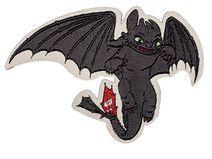 Dragons, Ohnezahn, Patches, Bügelbilder, Flicken