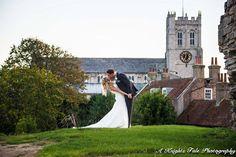 Bride and groom kiss. #wedding #bride #groom #kiss