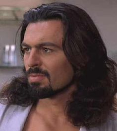 Long wavy hair Interesting picture of a dude with long wavy hair, very wild look, why not add it to the database then? Pretty People, Beautiful People, Oded Fehr, Brendan Fraser, Cinema Tv, Hollywood Men, Great Beards, Hair Pictures, Gorgeous Men