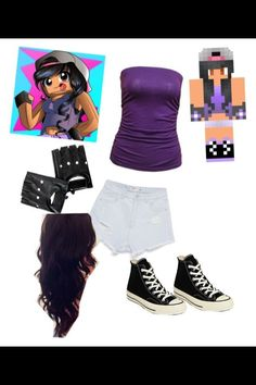 DIY Aphmau character outfit