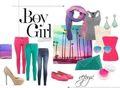"""To Los Angeles"" by azaviki on Polyvore"