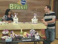 PROGRAMA ARTE BRASIL Professora: ANGELA ROCHA Aula: CAIXA COM COELHA EM BISCUIT…