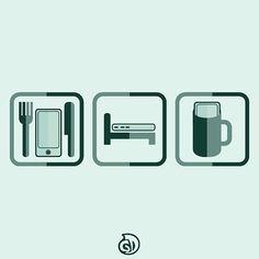 Connected/Eat Sleep Drink - No. 95 . . . daybreakdoodles#vector#vectorart#graphic#graphicdesign#illustration#illustrationoftheday#design#flatvector#flatdesign#logo#flat#adobeillustrator#dribbble#behance#iconaday#bestvector#thedesigntip#visforvector#graphicgang#graphicdesigncentral#designspiration#slowroastedco