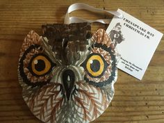 Owl - $16.95 : Chesapeake Bay Christmas Company, Unique, handcrafted Santas, handpainted ornaments & home decor