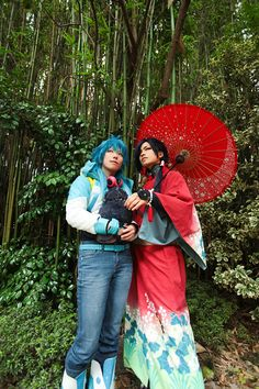 DRAMAtical Murder -Aoba and Koujaku-2 by AkiraKirihara.deviantart.com on @DeviantArt