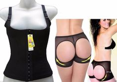 Bundle Waist Training Vest Corset AND Butt Lifter