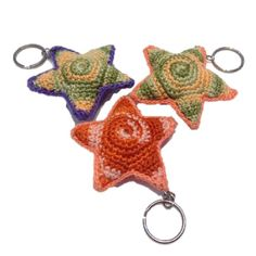 Crocheted Keychains