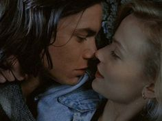 River Phoenix and Samantha Mathis in The Thing Called Love