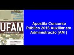 Apostila Concurso Público 2016 Auxiliar em Administração [AM ]