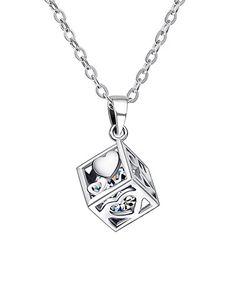 Look at this #zulilyfind! Cubic Zirconia & White Goldtone Love N Hearts Pendant Necklace #zulilyfinds