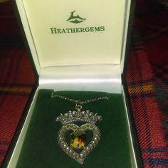 Heathergems Luckenbooth Pendant by Charles Buyers Company of Scotland
