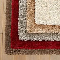 Tapis shaggy, 3 tailles, Alline