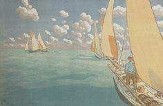 Henri Rivière (1864-1951) - Armel Galerie d'Art Paimpol - Tableaux bretons et sculpture en Bretagne de 1880 à nos jours.