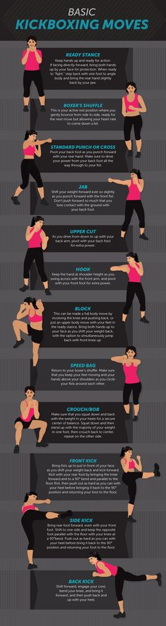 Basic Kickboxing Moves - Kickboxing Your Way to a New You!