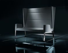 ソファ INKA STEEL S 200 ST D Inka Steel コレクション by BILLIANI   デザイン: Roberto Romanello