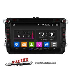 Consola Ordenador de a Bordo GPS DVD 2GB RAM Pantalla 8 Pulgadas Para Volkswagen Passat Golf Polo -- 280,68€