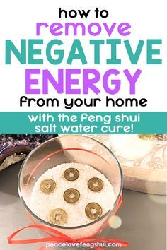 Feng Shui And Money, How To Feng Shui Your Home, Room Feng Shui, Feng Shui House, Feng Shui Guide, Fen Shui, Feng Shui Cures, Feng Shui Energy, Bad Spirits