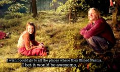 One day I will visit New Zealand. I must. I have to at least see some of the places they filmed Narnia and The Lord of the Rings.