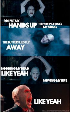 Voldemort dancing to Party In The USA!!