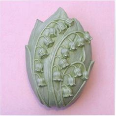 Lily of the Valley Silicone Soap mold Craft Molds DIY Handmade soap S017 #Osrkey