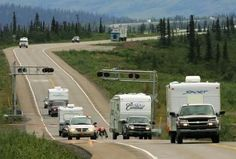 RV travel is one of the many ways to see Alaska.