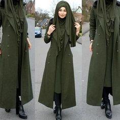mentions J'aime, 18 commentaires - Hijab Fashion Inspiration ( - Hijab+ Muslim Women Fashion, Islamic Fashion, Casual Hijab Outfit, Hijab Chic, Muslim Dress, Hijab Dress, Hijab Mode Inspiration, Abaya Mode, Look Fashion