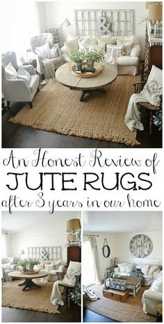 Jute rug sounds perfect for the entryway!