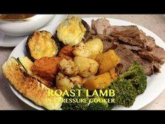 Roast Lamb in the Pressure Cooker cheekyricho Tutorial - YouTube