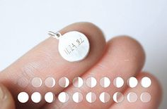 35 Perfect Personalized Gifts To Give This Year- Moon Necklace