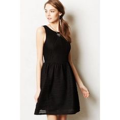 anthropologie • textured dress wore a few times Anthropologie Dresses