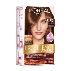 Loreal Excellence Haircolor 5.32 Sunny Light - https://www.transfashions.com/en/beauty-health/hair-care/hair-colors/loreal-hair-colors/loreal-paris-excellence-cream/loreal-excellence-haircolor-5-32-sunny-light.html Loreal Excellence Haircolor 5.32 Sunny Light is the perfect #haircolor for gray coverage. It also strengthens and provides this...