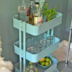How To Use the $50 IKEA RÅSKOG Cart in Every Room of the House   Apartment Therapy