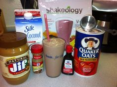 Tropical Oatmeal Cookie Shakeology (Gotta try this with my Trop shakeO)
