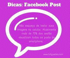 Quer melhorar suas postagens no facebook?  Dica 5 #dica #facebook #post #midiassociais #socialmedia