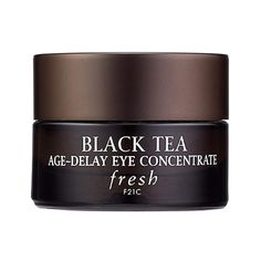 The Ten Best Creams For Puffy Eyes//#10 Fresh Black Tea Age-Delay Eye Concentrate #rankandstyle