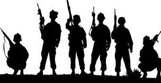 Military Troops U S ARMY Soldiers Decal Sticker Custom Vinyl Decal Stickers Outdoor Car Truck Boat Sign Business Windows Doors Walls Soldier Silhouette, Army Tattoos, Roman, Clipart Black And White, Army Soldier, Military Army, Military Signs, Silhouette Cameo Projects, Custom Vinyl